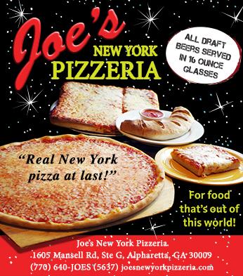 Joe's New York Pizzeria Ad